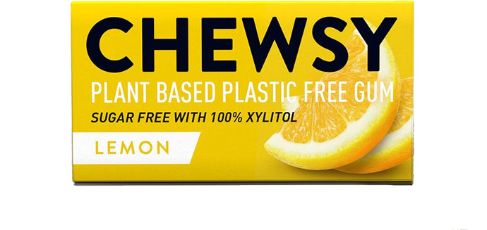 Chewsy Gum Lemon All Natural 15gm