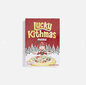 Kith for Lucky Charms Box Puzzle - Red / Multi 500 ( pieces)
