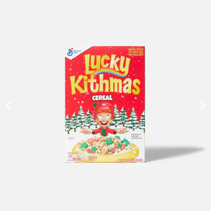 Kith for Lucky Charms Lucky Kithmas Cereal 10.5 oz