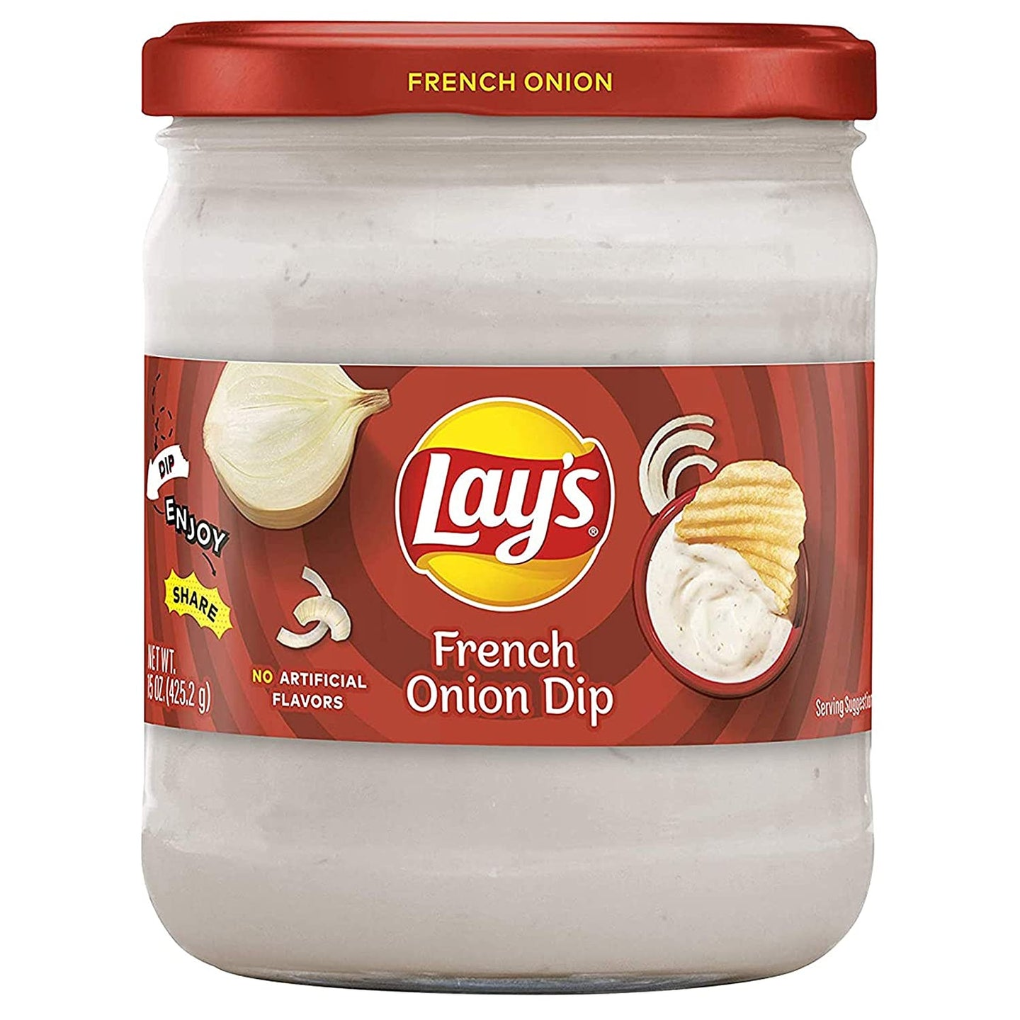 Lay's , French Onion Dip 15 oz