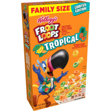 Load image into Gallery viewer, Froot Loops Tropical Limited Edition 19.4 oz Family Size