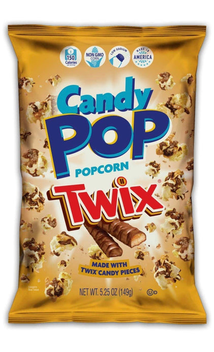 "Candy pop ""Twix"" popcorn 5.25 oz"