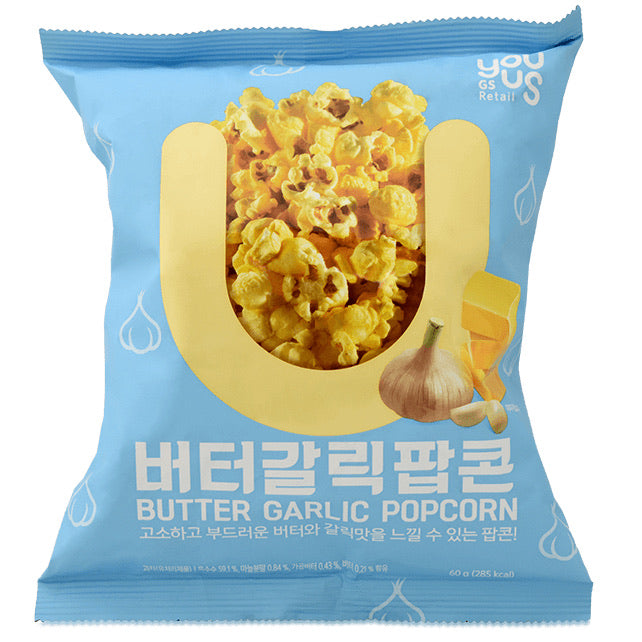 Youus Butter Garlic Popcorn