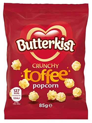 Butterkist Toffee Popcorn, 85 g,