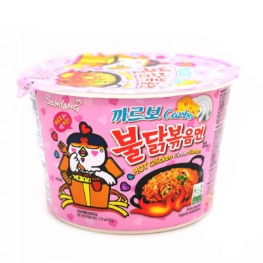 Samyang Carbo Hot Chicken Flav Ramen Bowl, 105g