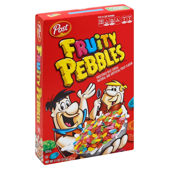 Fruity pebbles cereal 11 oz
