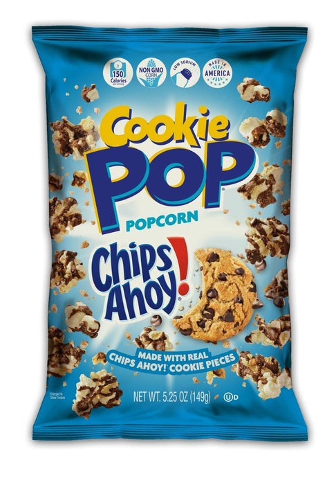 Candy Popcorn, Chips Ahoy Cookie , Made with Real chips Ahoy!