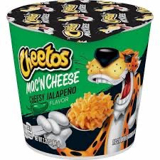 Cheetos Mac'N Cheese CHEESY JALAPEÑO Flavor Cup