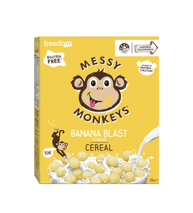 Messy Monkeys Banana blast Fl. Cereal