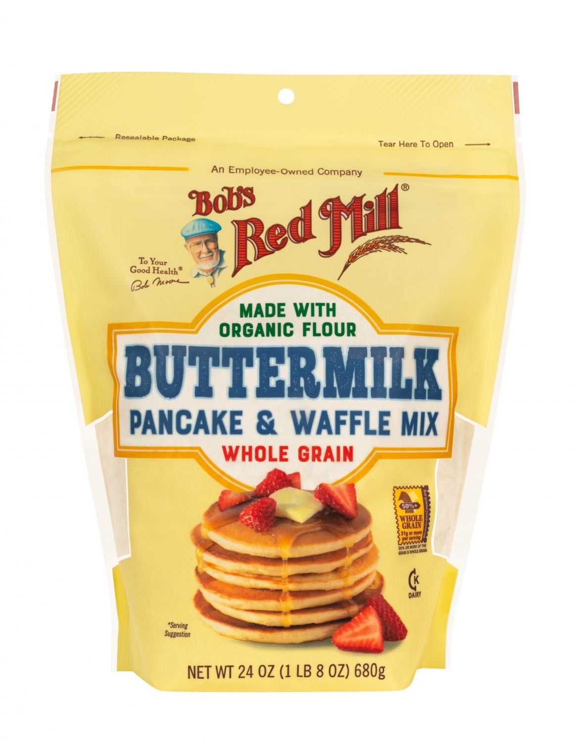 Bob's Red Mill Buttermilk Pancake and Waffle Mix (680g)