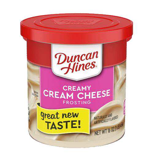 Duncan Hines creamy home style frosting  454g