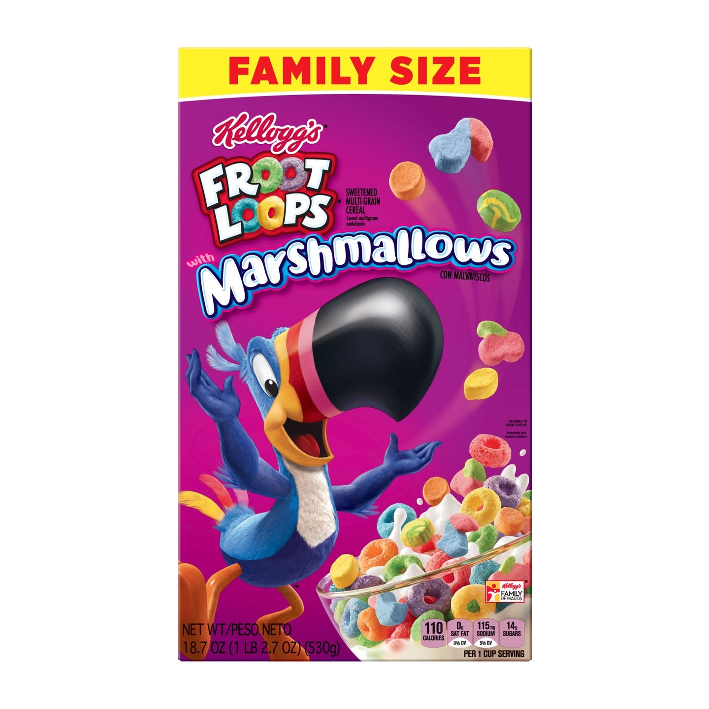 Froot Loops with Marshmallows Breakfast Cereal
