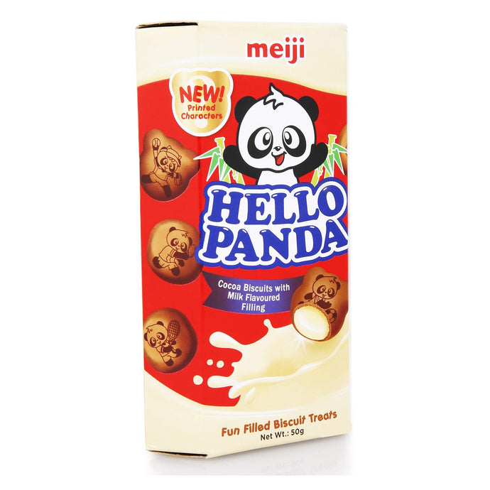 Meiji Hello Panda Cocoa Biscuits with Milk Fl. 50g
