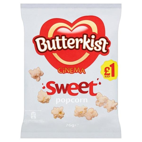 BUTTERKIST CINEMA SWEET POPCORN (76g)