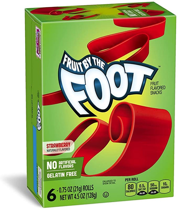 Fruit by the foot strawberry 128g