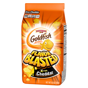 Goldfish Baked Crackers Xtra Cheddar