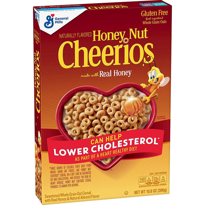 Cheerios Honey Nut cereal 306 g