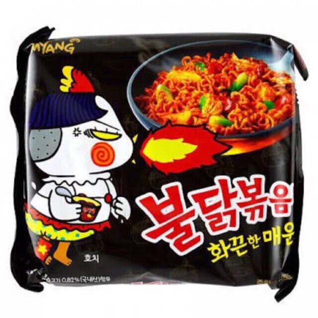 Samyang Buldak Hot Spicy Fire Instant Noodle, 140g