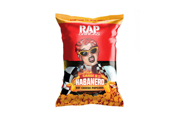 Rap Snacks Cardi B Hot Cheese Habanero Popcorn