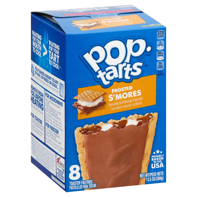 Pop tarts Kellogg's Frosted S'mores. 8 pcs