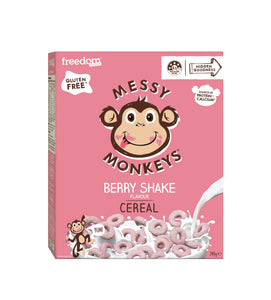 Messy Monkeys Berry Shake Cereal
