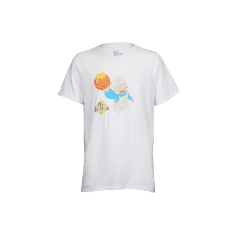 Nike Cinnamon Toast Crunch White Tee Athletic dri- fit