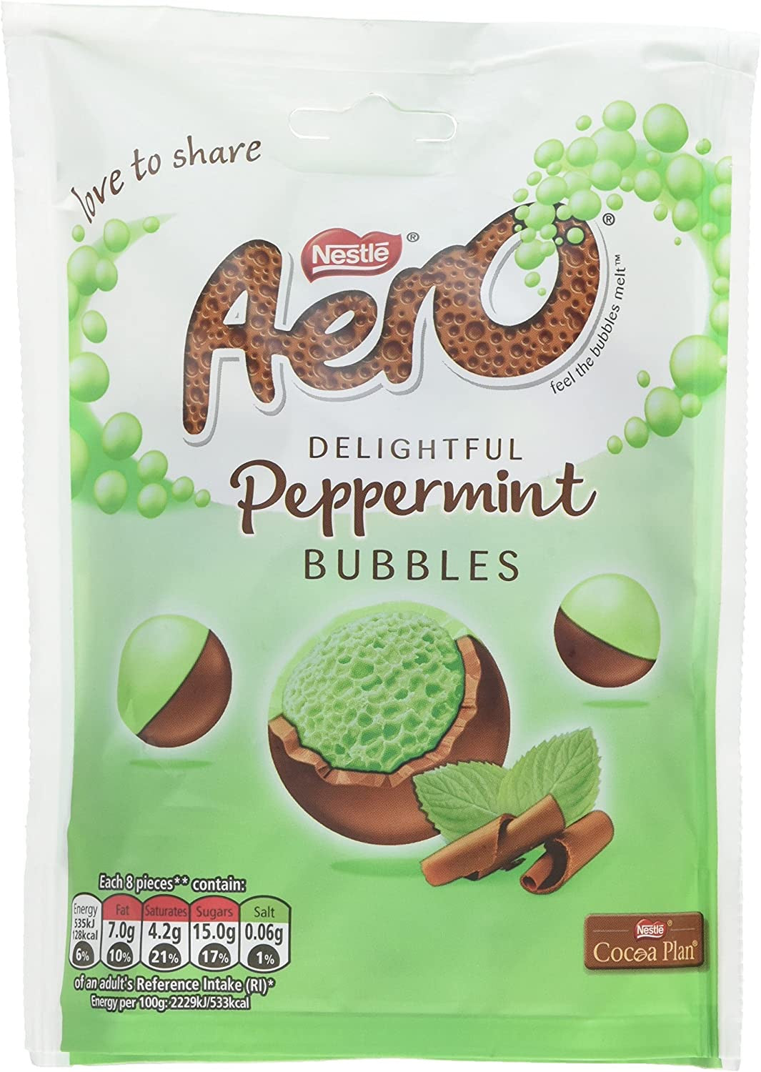 Aero Delightful Peppermint Bubbles