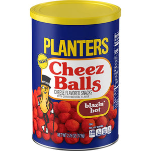 Planters Blazin Hot Heat Cheez Balls 2.75 oz