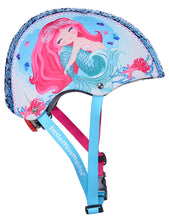 Load image into Gallery viewer, Mermaid Sequin Multi-Sport Child's Helmet, Teal