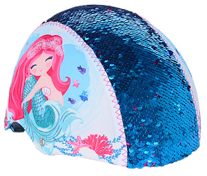 Mermaid Sequin Multi-Sport Child's Helmet, Teal