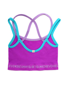 PURPLE & BLUE CROP TOP 2-PACK