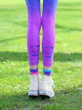 Load image into Gallery viewer, BLUE OMBRE HI BYE LEGGINGS