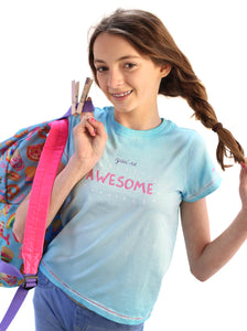 'YOU'RE AWESOME' PASS-IT-ON TEE + 3 FREE KINDNESS PINS