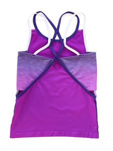 PURPLE & BLUE OMBRE TANK 2-PACK $5.66 EACH!!!