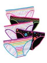 Load image into Gallery viewer, BLACK & WHITE ZANY UNDIES 5-PACK