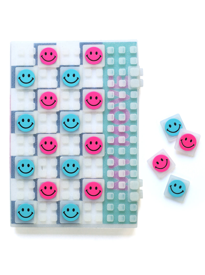 JELLY SNAP CHECKERS NOTEBOOK