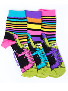 STRIPED SNEAKER ANKLE SOCKS