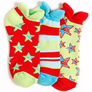 SHOOTING STARS SPORT LINER SOCKS
