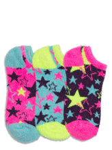 Load image into Gallery viewer, STARS FUZZY LINER SOCKS