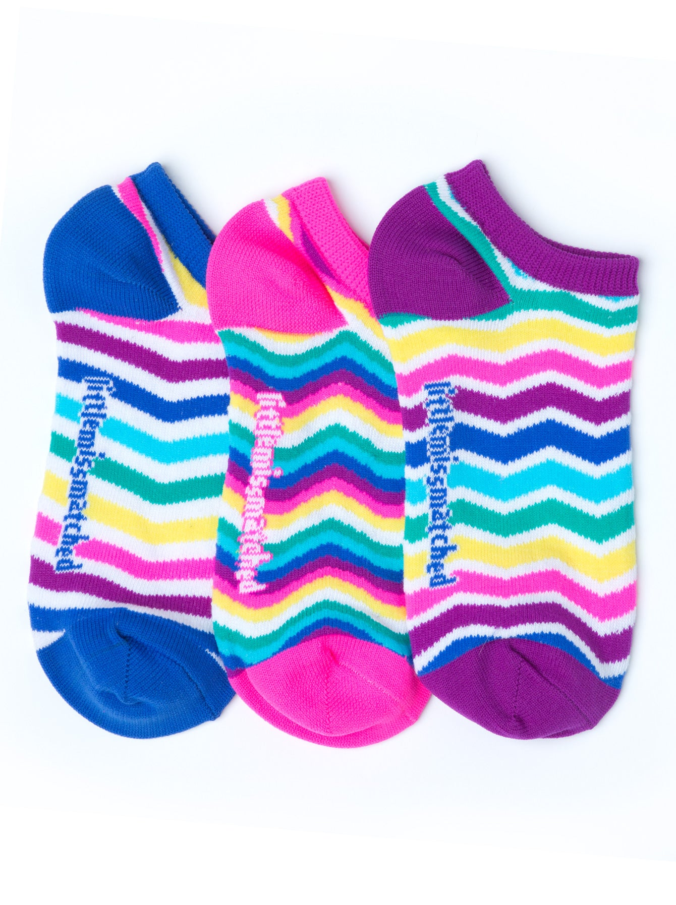 WAVY STRIPES LINER SOCKS