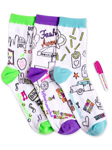 NEW YORK COLORIZE ANKLE SOCKS