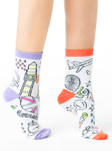 Load image into Gallery viewer, LONDON COLORIZE ANKLE SOCKS