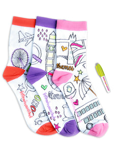 LONDON COLORIZE ANKLE SOCKS