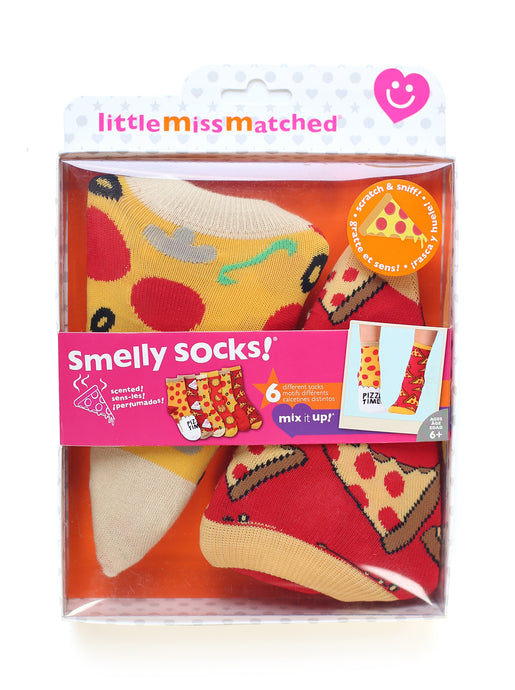 SMELLY PIZZA SOCKS GIFT SET