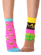 Load image into Gallery viewer, SMELLY CHEESEBURGER SOCKS GIFT SET