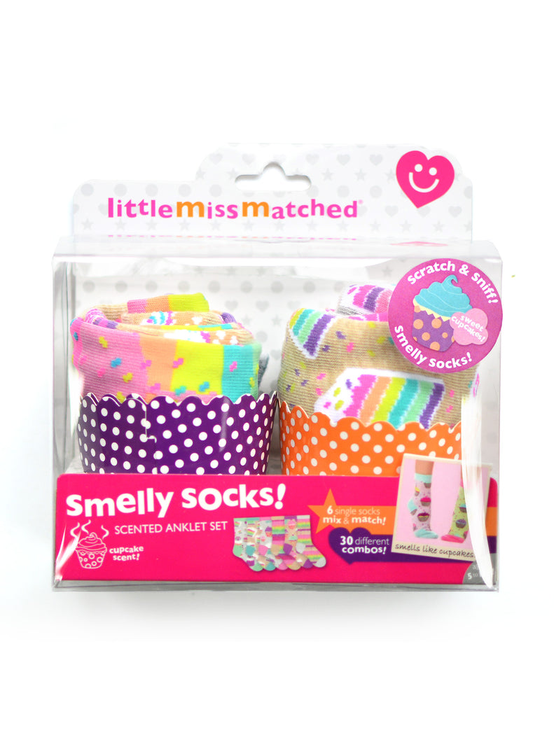 SMELLY CUPCAKE SOCKS GIFT SET