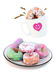 SMELLY DONUT SOCKS GIFT SET
