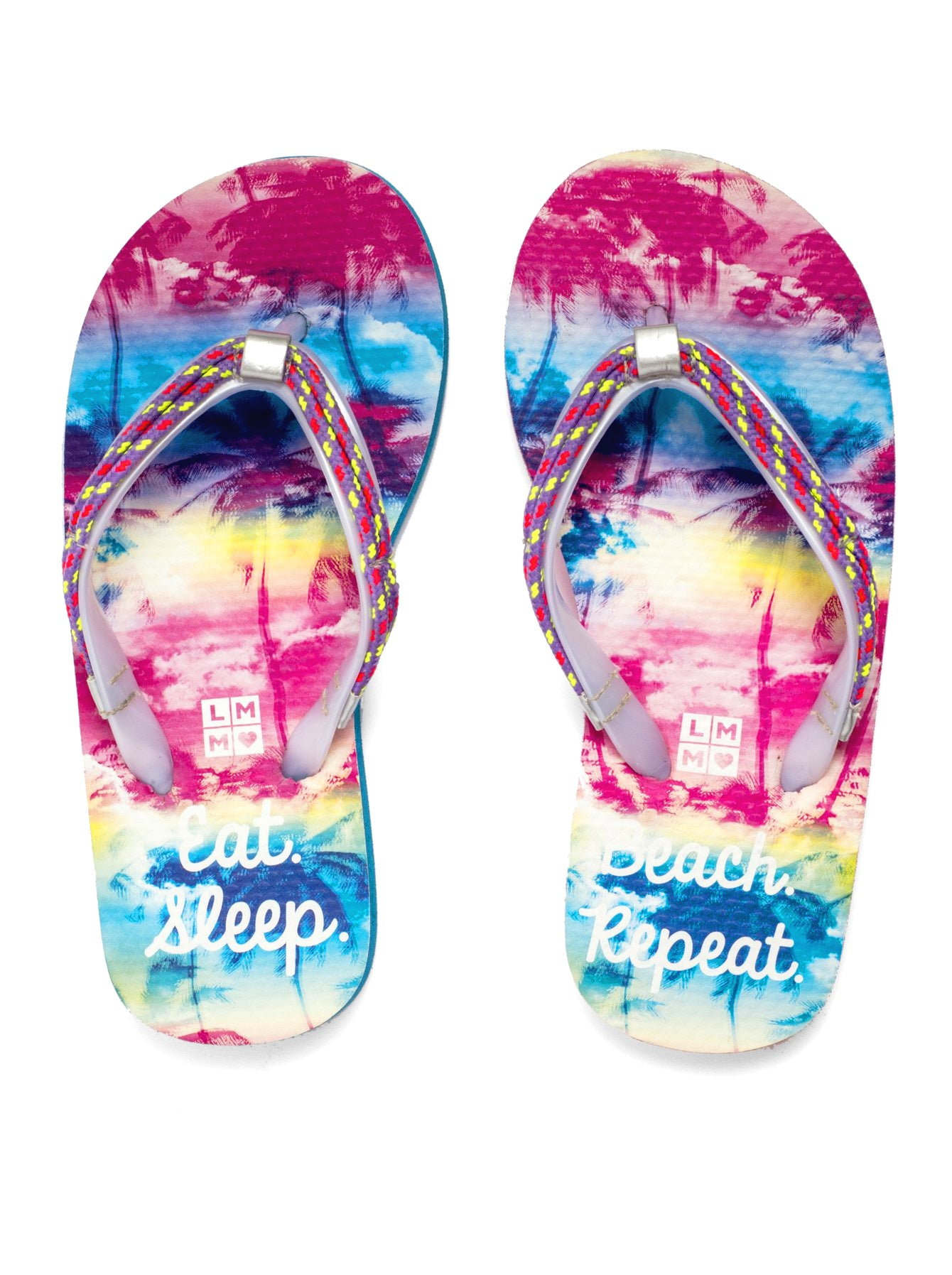EAT BEACH SLEEP REPEAT FLIP FLOPS