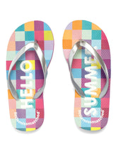 Load image into Gallery viewer, HELLO SUMMER FLIP FLOPS