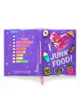 Load image into Gallery viewer, I LOVE JUNK FOOD SHAKER NOTEBOOK